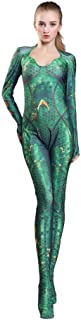 Mera Movie Sexy Fish Scales Bodysuit Halloween cosplay costumes Adult/Kids