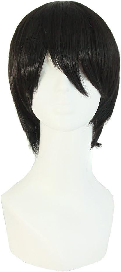 peluca para hombre MapofBeauty 25cm/ 10 pulgada corto lacio