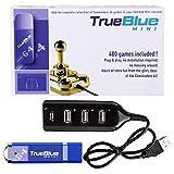 Macium True Blue Mini Plug-Play-Addon Ultradrive Pack für C64 / C64 Mini, 480 Spiele insgesamt