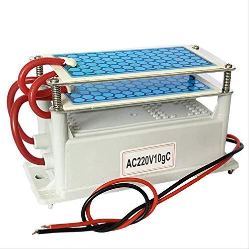 Ozongenerator,Luft Wasser Luftreiniger,220V / 110V 10g doppelt integrierter langlebiger Keramikplatten-Ozongenerator