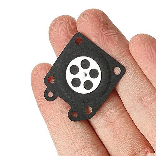 Halsey99 10Pcs Kettensäge Vergaser Dosiermembrane Für Walbro 95-526 95-526-9 Diaphragmen Auto Werkzeug