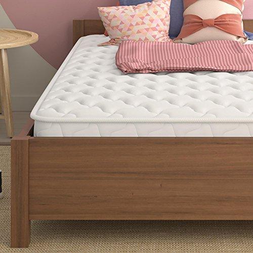 "Signature Sleep 6"" Hybrid Coil Mattress, Twin, White"