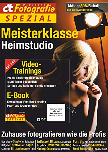 c't Fotografie Spezial: Meisterklasse Edition 8: Heimstudio