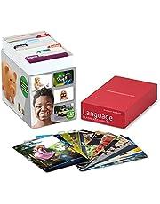 Picture My Picture Język Flash Card Library | 320 języków kart fotograficznych | Materiały do terapii mowy i materiały ESL
