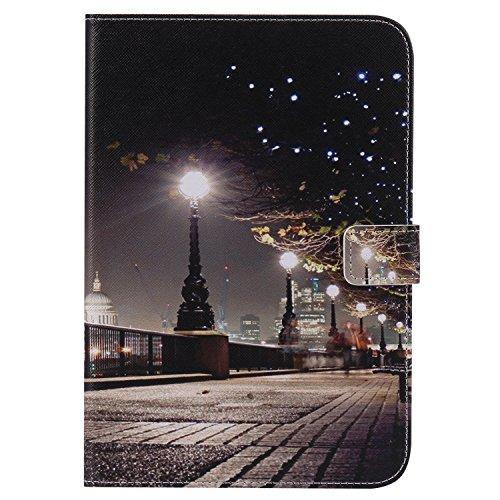 Funluna Samsung Galaxy Tab S2 8,0 Custodia, PU Pelle Smart Case con Funzione di Supporto e Auto Svegliati/Sonno e Tasca per Le Schede Cover for Samsung Galaxy Tab S2 8,0 SM-T710/T715, London