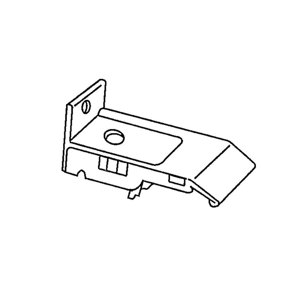 統治する紳士気取りの、きざな誘惑お取寄せ 機能性カーテンレール コントラクト17 完全ワンタッチ正面シングルブラケット ■ナチュラル JQ5