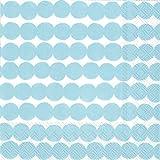 Boston International Ihr Marimekko 20-Count 3-Ply Tovaglioli di Carta per Il Pranzo, Rasymatto-Blu Chiaro