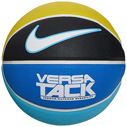 Nike Versa Tack 8P Baloncesto - Talla única, BK/WH/AQ