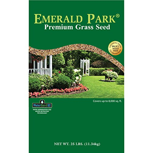 Wetsel Seed Products 190446 Emerald Park Grass Seed Lawn, Brown