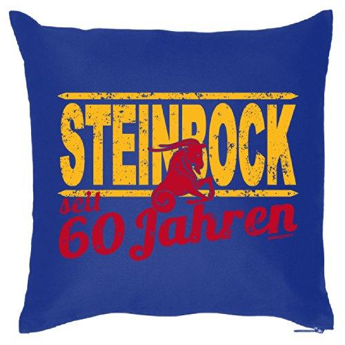 Super leuk sofakussen decoratief kussen voor het verjaardagskind - 60 jaar steenbok - sterrenbeeld/Goodman design