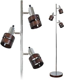 フロアライト 3灯 フロアスタンドライト LED対応(GT-DJ-01B) フロアランプ 間接照明 電気スタンド LEDフロア仕事 読書ランプ 室内ライト 組立式 led 照明灯 北欧 リビング 寝室用 フロアー ライト デスク インテリア スポットライト
