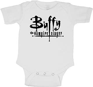 Merch Massacre Buffy The Vampire Slayer Logo Bodysuit Infant Toddler Baby Creeper