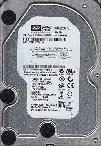 WD5002ABYS-01B1B0, DCM HGNNHT2CAB, Western Digital 500GB SATA 3.5 Festplatte