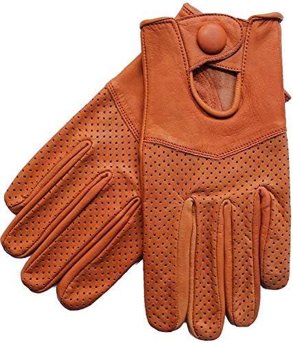 Riparo Motorsports Men's Half Mesh Leather Driving Gloves: Amazon.co.uk:  Sports & Outdoors