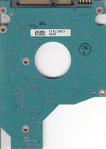 MK1059GSM, HDD2K51 Z SL01 T, G002872A, Toshiba 1TB SATA 2.5 Leiterplatte (PCB)