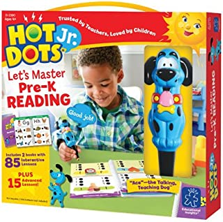 Hot Dots Jr. Let's Master Pre-K Reading