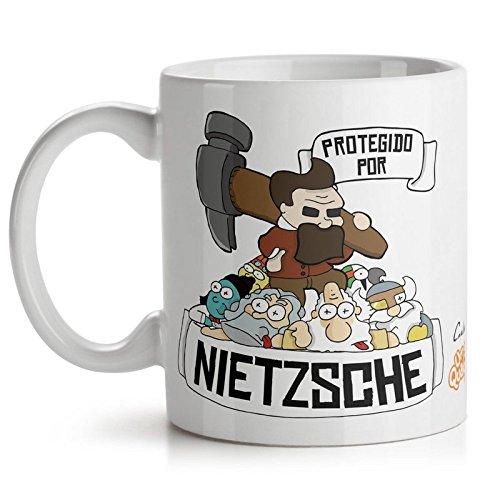 Caneca USQ Protegido Por Nietzsche