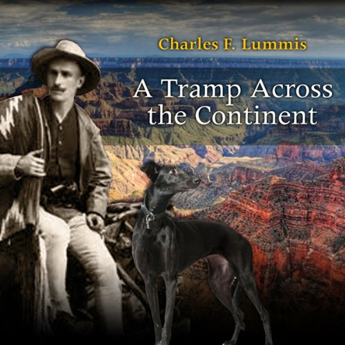 A Tramp Across the Continent audiobook cover art
