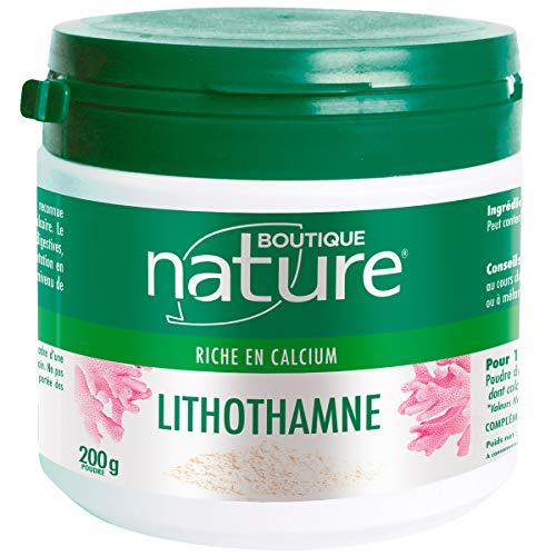 Boutique Nature - Complément Alimentaire - Lithothamne en Poudre - Source de Calcium