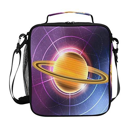 Montoj Saturn Planet Thermo-Kühltasche, wasserdicht, Kühltasche