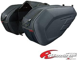 コミネ KOMINE バイク サドルバッグ SA-213 モールデッド サドルバッグ (拡張機能無し) フリー (36L) ブラック 09-213