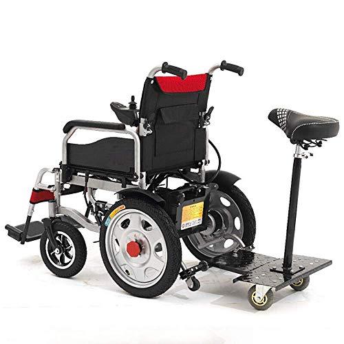 NMDD faltbarer, manueller elektrischer Doppel-Used-Doppel-Rollstuhl, leicht, elektrisch