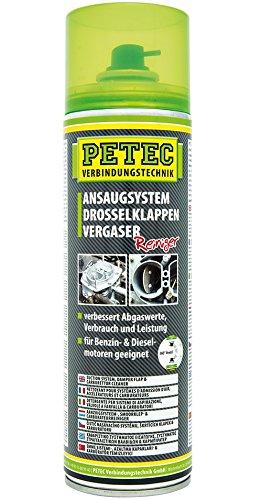 PETEC 72450 AGR Ventil Reiniger Drosselklappenreiniger Vergaserreiniger 500ml