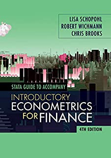 STATA Guide for Introductory Econometrics for Finance