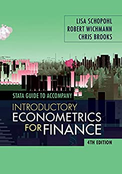 STATA Guide for Introductory Econometrics for Finance by [Chris Brooks]