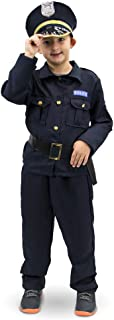 Plucky Police Officer Children's Halloween Costume - Kid Cop Uniform