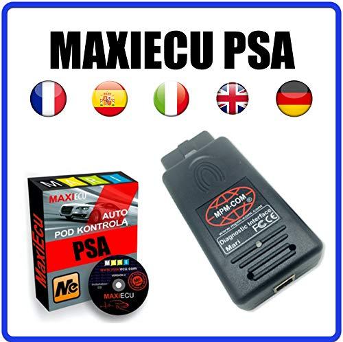 MISTER DIAGNOSTIC MPM-COM + MaxiECU 2 für Fahrzeuge PSA (Peugeot + Citroen) – professionelle Diagnose