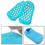 Pinkiou Soften SPA Gel Gants hydratants et chaussettes pour hydrater Cracked Soins de la peau (Bleu) #2