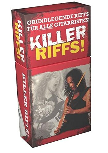 Killer Riffs: Lehrmaterial für Gitarre