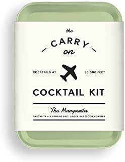 W&P MAS-CARRYKIT-MG Carry on Cocktail Kit, Margarita, Travel Kit for Drinks on the Go, Craft Cocktails, TSA Approved