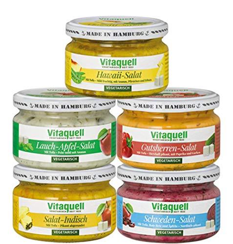 Vitaquell Vegetarische Salatkiste, 5 x 200 g