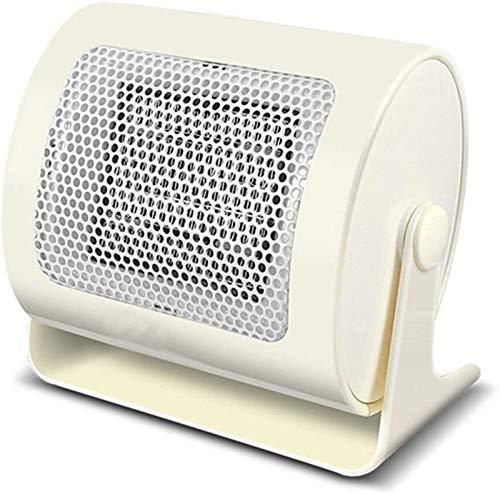 Tragbare Elektrische Einstellbare Thermostat-Lüfte Heizgerät Tragbare Haushalt Mini Ceramic Indoor Space Schnell Wärmebüro Schlafsaal Kleiner Keramikheizgerät Kleiner Raumheizung mit Thermostat.