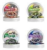 Crazy Aaron's 4 Pack Putty Mini Tin Assortment - Super Illusions