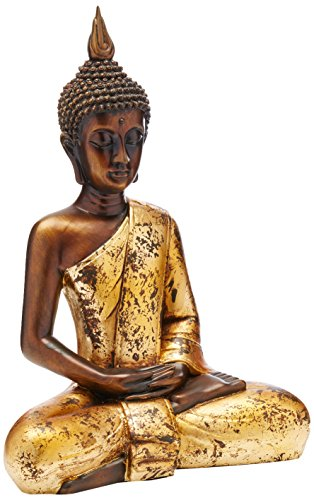 Oriental Furniture 16' Thai Sitting Buddha Statue