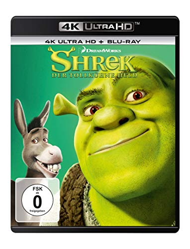 Shrek - Der tollkühne Held (4K Ultra HD) (+ Blu-ray 2D)