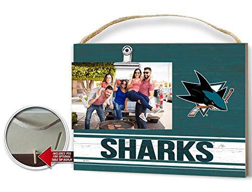 KH Sports Fan Clip It Colored Logo Photo Frame San Jose Sharks