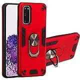 KABIOU Armadura a prueba de golpes Soporte magnético Xiaomi Mi teléfono celular caso para Xiaomi Redmi Note 8 4 4X 5A Y1 5 6 6A 7 Y3 7A CC9E A3 K20 9T Pro Plus cubierta Shell,Rojo, para Xaiomi 9T Pro