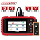 LAUNCH OBD2 Scanner CRP129X Scan Tool Car Code Reader Android Based Diagnostic Scanner for ABS SRS Transmission Engine with Oil/EPB/SAS/TPMS/Throttle Body Reset and TPMS Tool AutoVIN Wi-Fi Updates