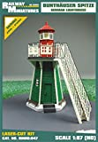 Railway RMH0:047 Miniatures - Faro de Conejito (12 x 10,5 x 7,8 cm)