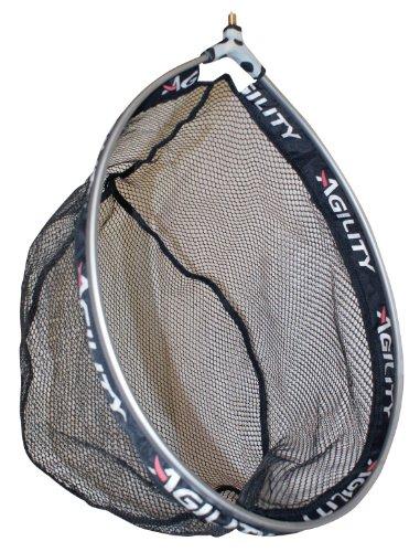 Shakespeare Agility Landing Net - Carp Friendly Mesh, Alluminium Ring - For Coarse, Match or Freshwater Fishing
