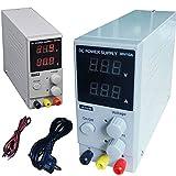 DOBO Alimentatore Stabilizzato da banco compatto Slim Trasformatore corrente professionale regolabile fino a 30V e 10A - Versione MINI fino a 10A
