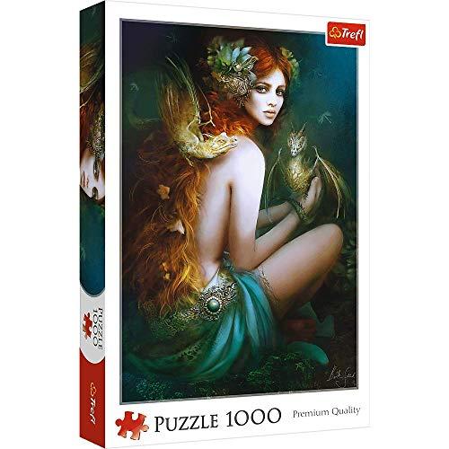 Brandsseller Puzzle - Drachenfrau - 1000 Teile