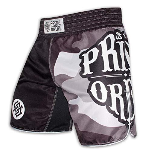 Pride or Die Pantalones cortos Muay Thai Fight Club para hombre