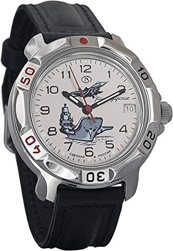 Vostok Ruso Militar Reloj de Pulsera KOMANDIRSKIE 2414Modelo 811817