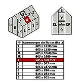 Jawoll Hohlkammerplatte für Gewächshaus Gartenhaus Treibhaus Nr. 4/605 x 590 mm | 34,26 €/m²