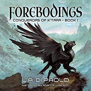 Forebodings audiobook cover art